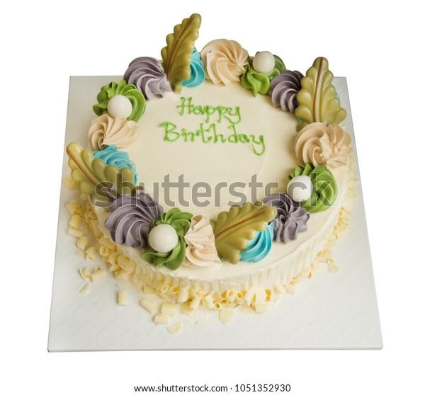 Amazing Birthday Cake Hand Writing On Top Stock Photo Edit Now 1051352930 Funny Birthday Cards Online Sheoxdamsfinfo