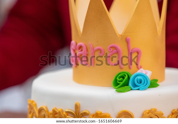 Sensational Birthday Cake Has Name Sarah Written Stock Photo Edit Now 1651606669 Funny Birthday Cards Online Eattedamsfinfo
