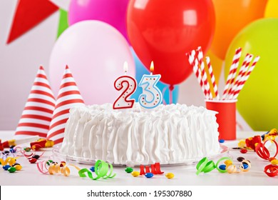 23 birthday images stock photos vectors shutterstock birthday cake on colorful balloon background with other birthday decoration focus is on cake altavistaventures Choice Image