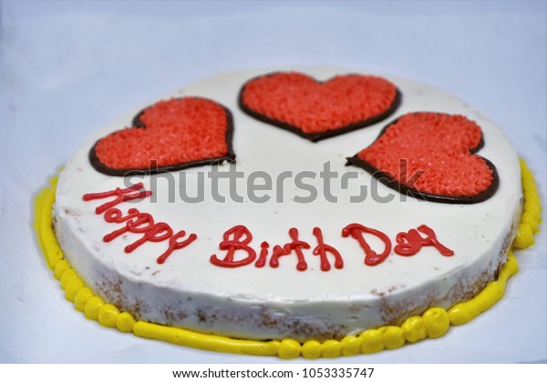 Remarkable Birthday Cake Writing Above Isolated On Stock Photo Edit Now Funny Birthday Cards Online Sheoxdamsfinfo