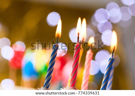 Birthday Candles With Lights