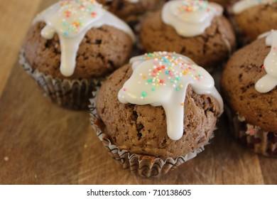 Birthday Cappuccino Muffins