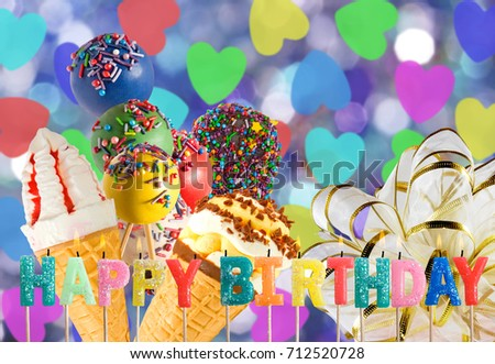 Birthday Greeting Card Stock Photo Edit Now 712520728