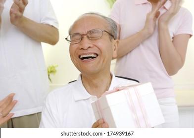 Asian Grandfather Girl Images Stock Photos Vectors Shutterstock
