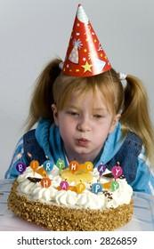 Birthday of a little girl