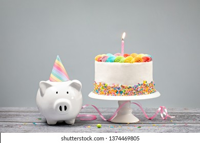 Fine Money Birthday Cake Images Stock Photos Vectors Shutterstock Funny Birthday Cards Online Alyptdamsfinfo