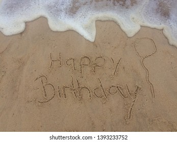 Birthday wishes from the ocean