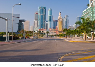 Biscayne Boulevard and Downtown Miami
