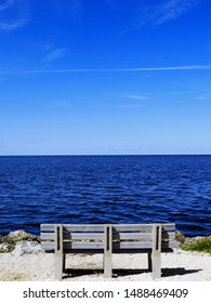 Biscayne National Park Bench with view