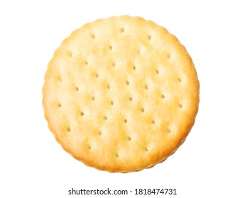 Biscuit  closeup isolated on white