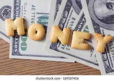 Biscuit of money