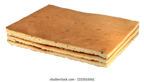 Biscuit rectangular cake