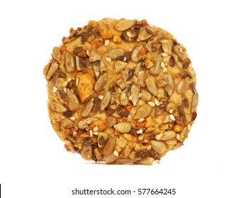 Biscuit with seeds