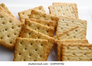 Biscuit is a variety of quick bread made from ingredients like flour, leavening, shortening, and milk or water.
