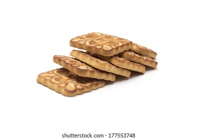 Biscuits with filling. Photo.