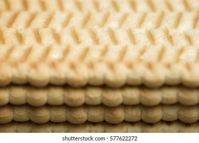 Biscuits with a pattern