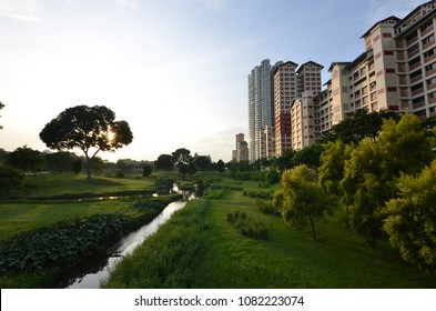 Bishan-Ang Mo Kio Park, as one of the largest urban parks in central Singapore, Bishan-Ang Mo Kio Park is a great place for families to have a fun day out.