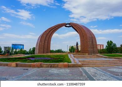 Bishkek, the capital of Kirgistan