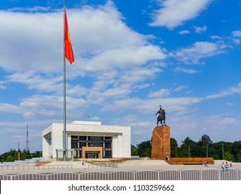 Bishkek, capital of Kirgistan