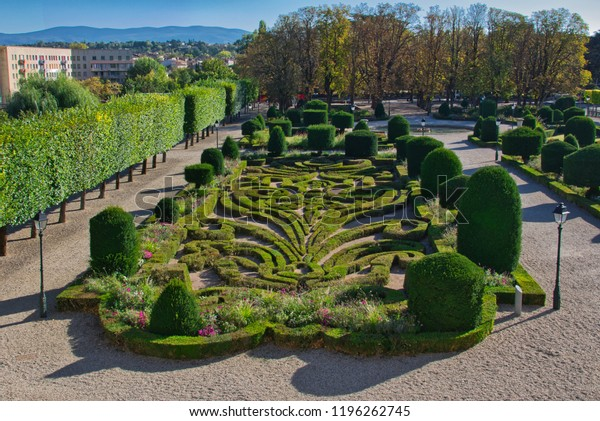 Bishop's garden designed by Le Notre in Castres, Southern France