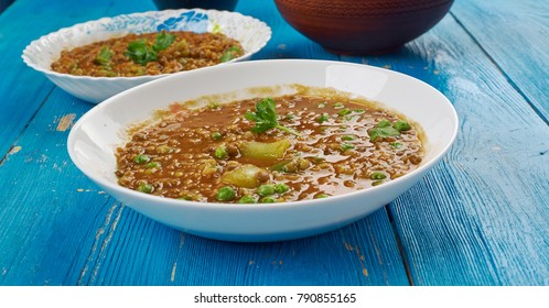 Bisi Bele Bhaath - meal of rice, lentils and vegetables,  traditional dish from the karnataka cuisine
