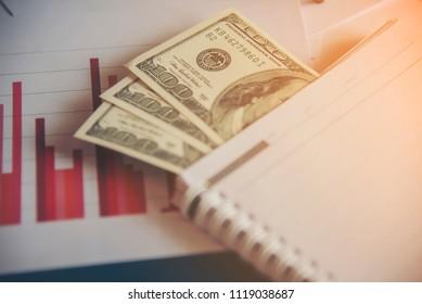 Bisiness finance concept