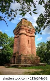 The Bismarck tower, Bismarck column in Heidelberg, Baden Wuerttemberg, Germany