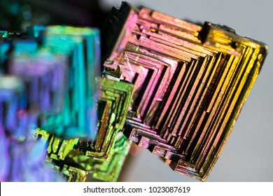 Bismuth crystals image