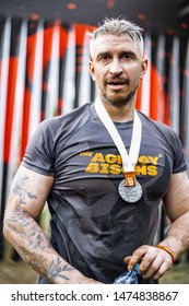 Bison Race - Obstacle Race, Sports Competition, Belarus, May 2019