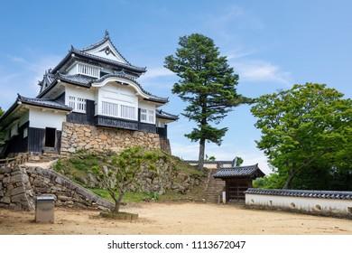Bitchu Matsuyama Castle in Takahashi, Okayama, Japan