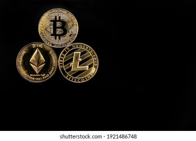 Bitcoin, altcoin, ethereum cryptocurrency is virtual money