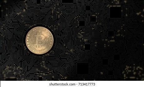 Bitcoin. Blockchain. Crypto currency.