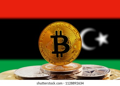 Bitcoin libya images stock photos vectors 10 off shutterstock bitcoin btc on stack of cryptocurrencies with libya flag in background the cryptocurrency coin is ccuart Choice Image