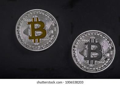 bitcoin coin metal
