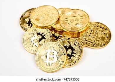 bitcoin coins group isolated
