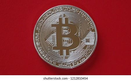 Bitcoin crypto currency coin blockchain money