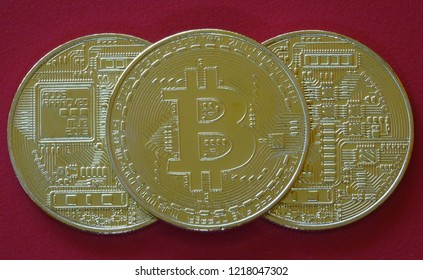 Bitcoin crypto currency coin digital money