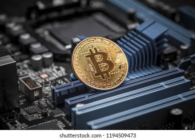 Bitcoin crypto currency gold mining cion