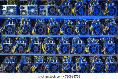 bitcoin cryptocurrency mining farm