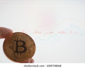 bitcoin cryptocurrency on hand