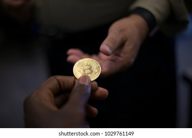Bitcoin digital cryptocurrency altcoin