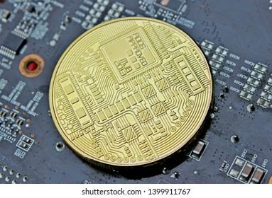 Bitcoin digital gold physical bitcoin chip