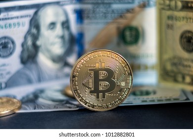 Bitcoin Dolar Hd Stock Images Shutterstock