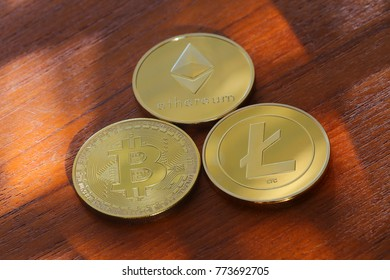 Bitcoin, Ethereum and Litecoin are among many cryptocurrencies available for investing.