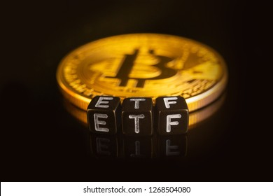 Bitcoin Exchange-traded fund (ETF) launch concept