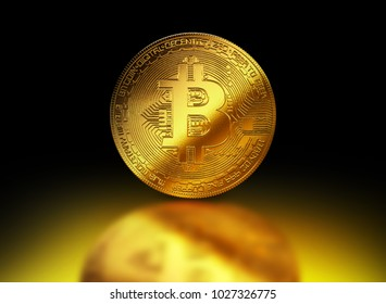 Bitcoin gold coin cryptocurrency