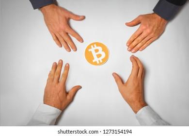 Bitcoin greed - People wanting, buying bitcoin