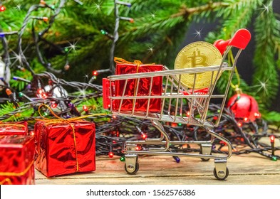 Cryptocurrency Christmas Images Stock Photos Vectors Shutterstock