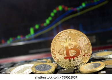 Bitcoin mining generating more income and rising price.