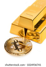 Bitcoin as modern virtual equivalent of gold